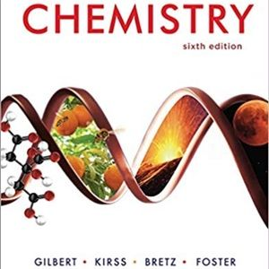 ISO!! 6TH EDITION GILBERT THOMAS CHEMISTRY BOOK